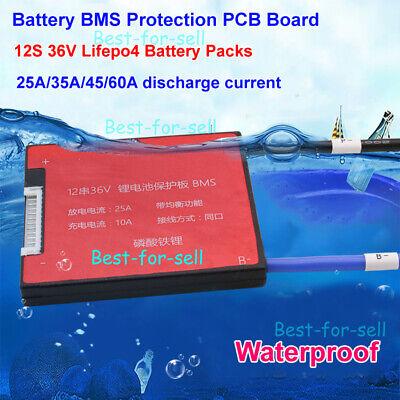 12S BMS 180A LiFePO4 3.2V 3.6VProtection Board Balance PCB PCM 38.4V 43.2V