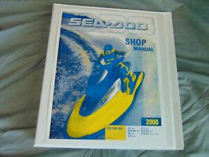 2000 Polaris Jet Ski GS GSX RFI XP GTI GTX Watercraft Repair Service Shop Manual