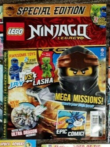 MULTI LISTING City Starwars Ninjago Hidden Side Batman LEGO MAGAZINES