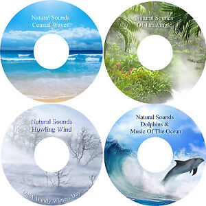Natural-Sounds-Relaxation-Deep-Sleep-Stress-amp-Anxiety-Relief-4-CD-Healing-Nature