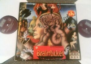 BRAINTICKET - COTTONWOODHILL / PSYCHONAUT 2X LP RARE GERMAN BELLAPHON PSYCH