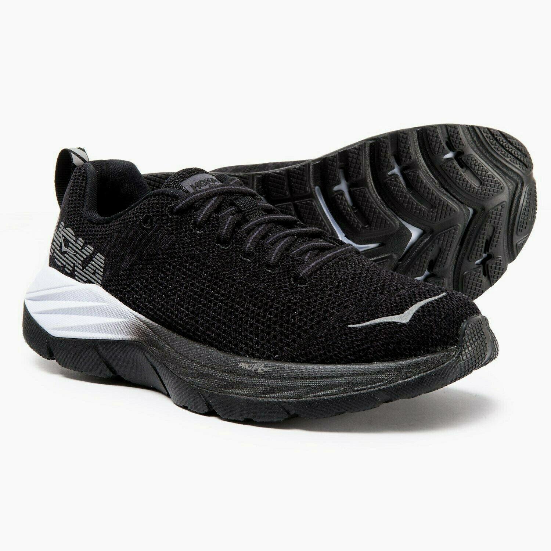 150 NEW Womens  7.5 Hoka One One Mach FN Running shoes Black Nine Iron