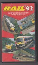 Rail,92 (VHS) Railway Video Tape ~ Transport Video Publishing Ltd ~Rail Magazine