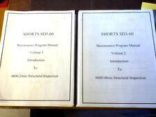 Shorts SD3-60 Maintenance Program Manuals, 2 Vol Set