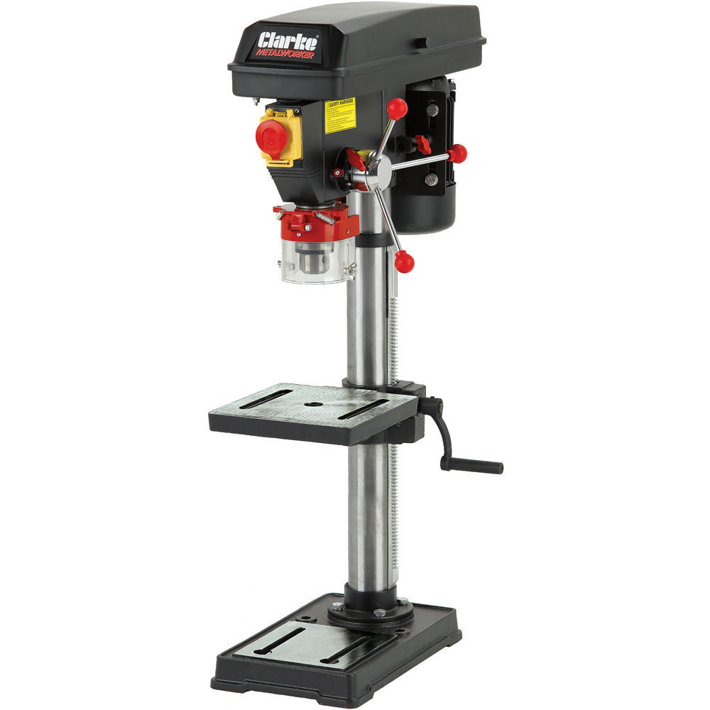 Clarke CDP152B Bench Drill Press 12 Speeds 300 - 2250rpm 450W