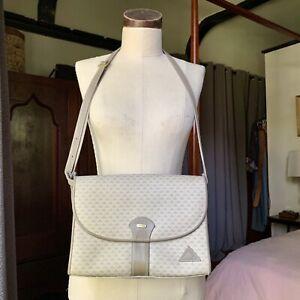 LIZ-CLAIBORNE-Gray-Purse-Handbag-VINTAGE-80-039-s