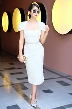 2016 $3K ICONIC most wanted GORGEOUS ROLAND MOURET GALAXY cream wool US 4 dress