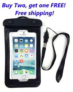 Image Is Loading Universal Waterproof Cell Phone Bag Underwater Dry Pouch
