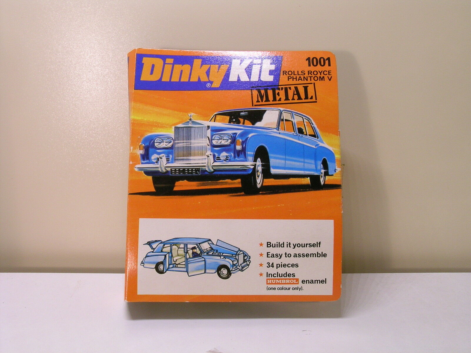 DINKY TOYS DIECAST METAL KIT ROLLS ROYCE PHANTOM V SCALE 1:43