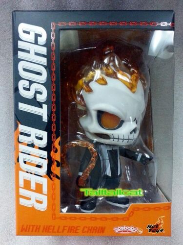 Hot Toys x MARVEL Agents of S.H.I.E.L.D Ghost Rider with Hellfire Chain Cosbaby