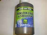 Rod Hutchinson Monster Crab And Shellfish Liquid Carp Food 500ml Fishing Tackle