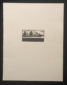 Wilhelm Laage, cuxhafen, taglio di legno, dal quale sconto, 1972