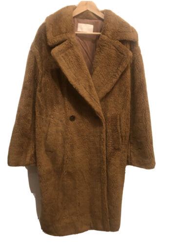 The frankie shop Oversized Teddy Bear Faux Coat Ma