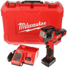 Milwaukee M12 Cable Cutter 600 Mcm 12 Volt Li Ion 3ah Battery Charger Hard Case