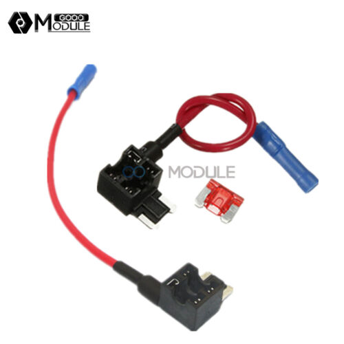 12V Car Add-a-circuit Fuse Micro ATM APM Auto 10A Blade Fuse Holder TAP Adapter