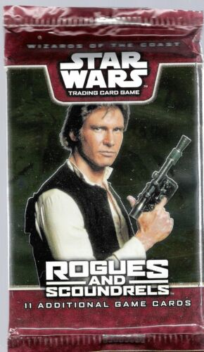 Rogues /& Scoundrels Booster factory fresh x1 WOTC Star Wars TCG