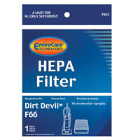 Dirt Devil Upright F66 Bagless W/foam Vacuum Filter Generic Part F643
