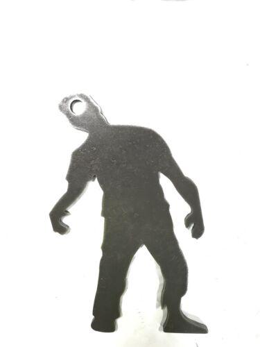 "AR500 Zombie Silhouette Steel Target Gong 12""X 8""X 1//2"""
