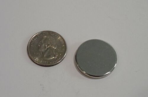 "Brand New Neodymium Rare Earth Magnets N52 Grade Large 1/"" x 1//8/"" Discs-Powerful"