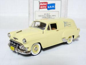 Motor-City-USA-MC9LE-1-43-1953-Chevrolet-Delivery-Handmade-White-Metal-Model-Car