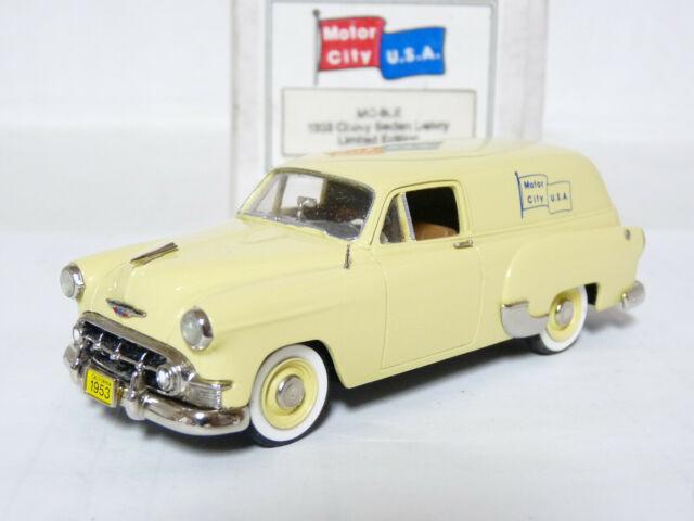 Motor City USA MC9LE 1/43 1953 Chevrolet Delivery Handmade White Metal Model Car