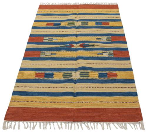 240x170 CM Kilim Tappis Kelem Autentic Indians manofatto Galleria Farah1970