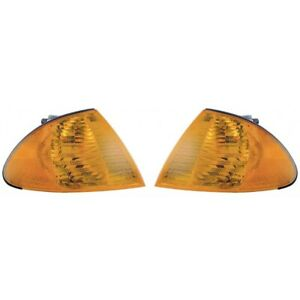 Fits-2001-BMW-330i-Sedan-Wagon-Park-Signal-Light-Assembly-Pair-Side