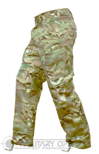 BRITISH ARMY STYLE PCS TROUSERS MTP MULTICAM MILITARY ISSUE CADETS FORCES
