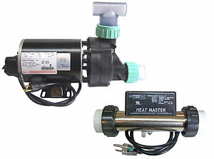 Whirlpool Bathtub Jet Pump Amp Heat Master Inline Heater
