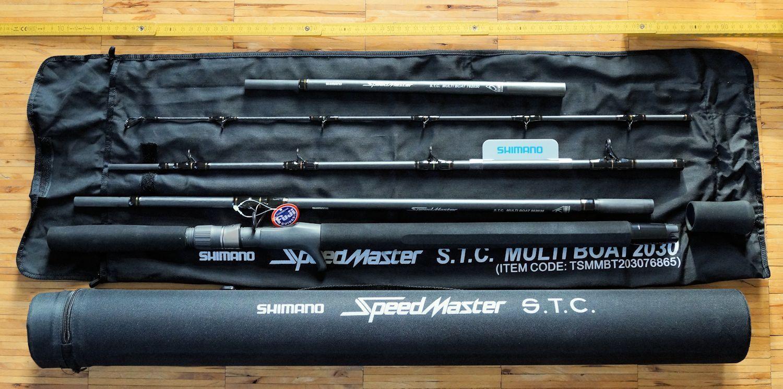 Shimano Speedmaster s.t.c. multi boat 2030 2.28m 2, 59m 20-30lb viaje vara nos