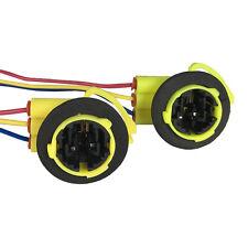 3157 Bulb Socket Brake Turn Signal Light Harness Wire LED Pig Tail Plug 4157 GM