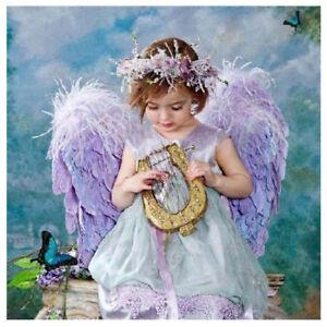 Angel Girl/&Xmas Tree Embroidery 5D Diamond Painting DIY Cross Stitch Home Decor