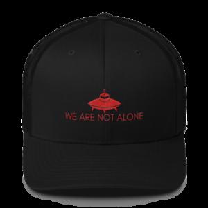 Area 51 Baseball Hat UFO Cap We Are Not Alone Cute Gift Alien Aliens UFO/'s