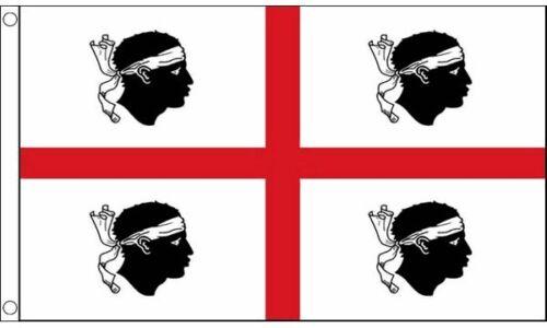 Sardinia Italy Flag 5ft x 3ft Flag Banner 150cm x 90cm