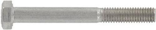 DIN 931 Sechskantschrauben mit Schaft M5 - M8 Edelstahl A2 A4 diverse Längen
