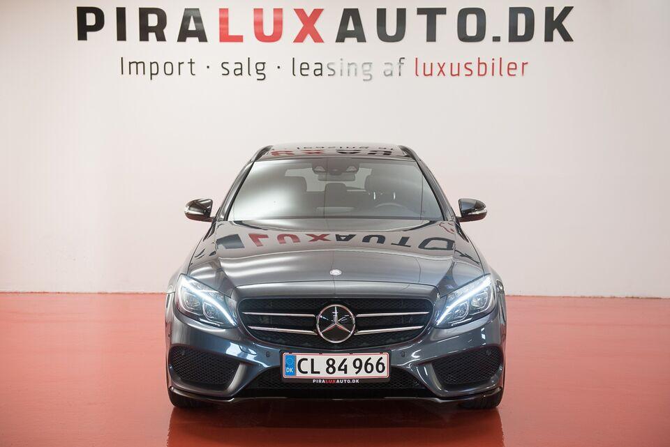 Mercedes C220 2,2 BlueTEC AMG Line stc. aut. Diesel aut.