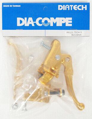 TECH-3 Blue BRAKE LEVER 22.2 mm Pair DIA-COMPE MX-121