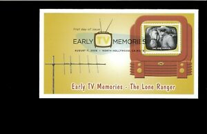 2009-FDC-Early-TV-Memories-The-Lone-Ranger-North-Hollywood-CA
