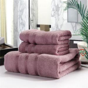 3Pcs-Bamboo-Fiber-Soft-Absorbent-Textiles-Plain-Hand-Face-Towel-Bath-Supplies-Z