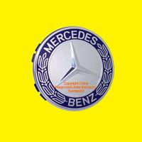 Genuine Mercedes Wheel Center Star 1 Hub Cap Cover Emblem Badge Logo Glk Slk R S