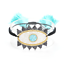 MIYUKI-Bracelet-Evil-Eye-Bracelet-Hamsa-Hand-Green-Crystal-Tassel-Handmade thumbnail 6