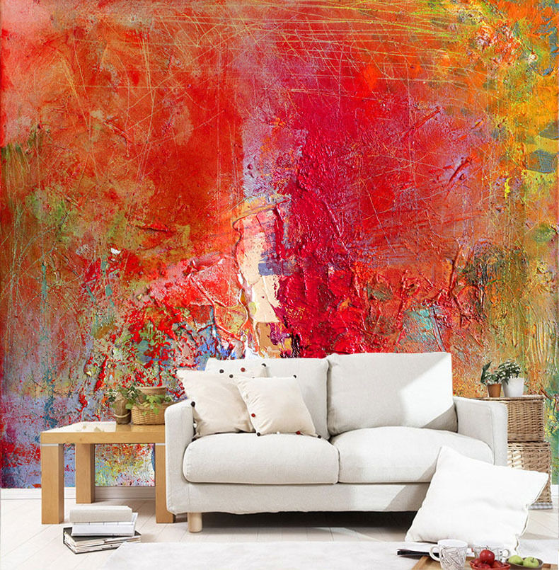 3D Mottled Painting 893 Wall Paper Wall Print Decal Wall Deco Wall Indoor Murals