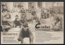 Hungary Postcard - Disnotor Achim Gyorgy Hazanal, Kolbaszfesztival  B2688