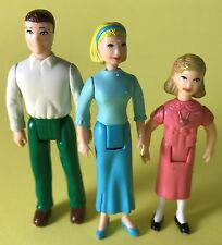 SWEET STREETS MINIATURE DOLLHOUSE FAMILY PEOPLE FIGURE LOT MOM DAD GIRL MAN ONLY