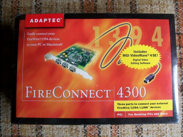 FIRECONNECT 4300 DRIVER FREE
