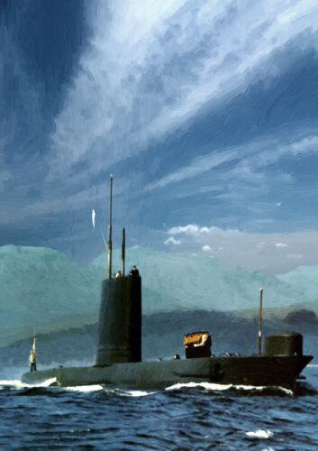 25 HMS Narwhal-mano acabado Edición Limitada