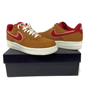 pretty nice ebac4 260a4 Image is loading Nike-Air-Force-1-Low-Tawny-Brown-LV8-