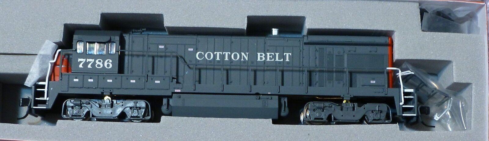 Atlas N  49926 GE B30-7 Low Nose - Standard DC -- Cotton Belt  7786  Gris, rosso