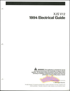 image is loading xjs-jaguar-1994-shop-electrical-manual-v12-wiring-