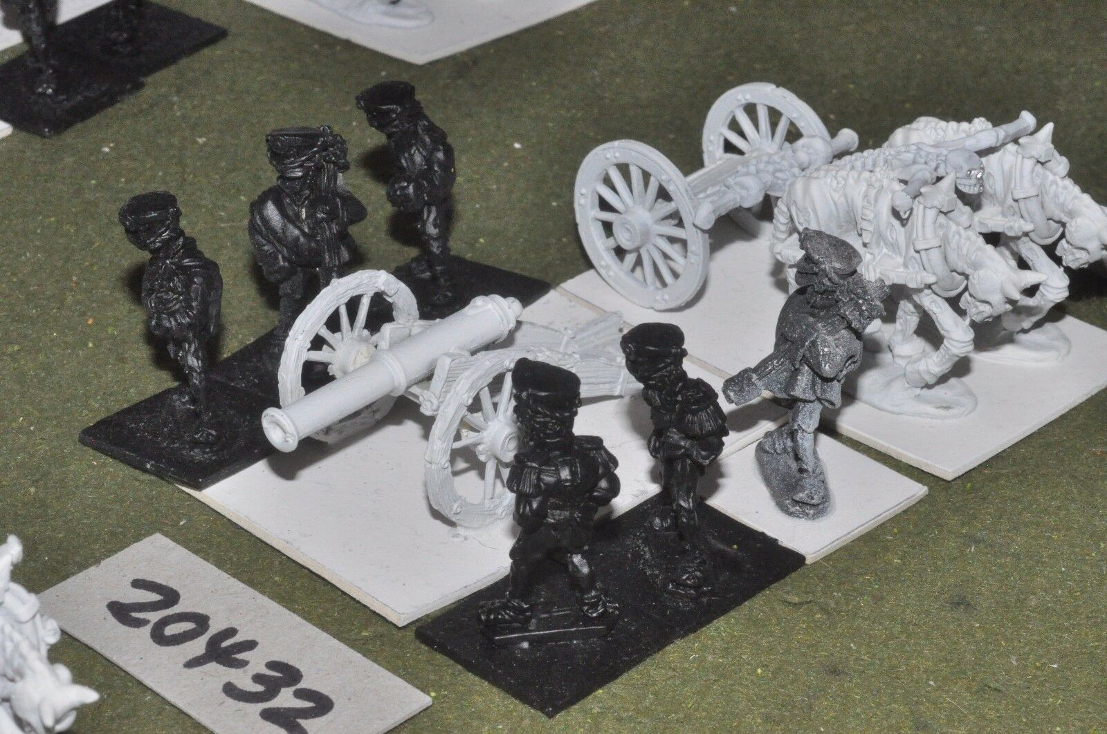 28mm flintloque fantasy undead corpserov Artillery (as photo) {16} (20432)
